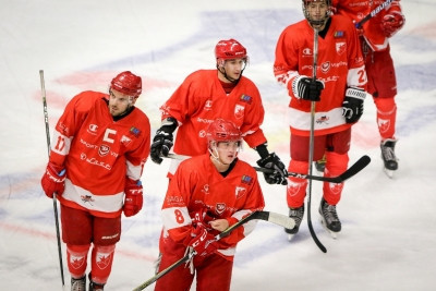 Russian ice hockey player Ion-Gerogi Kostev has been banned for two years for an anti-doping violation ©Crvena Zvezda
