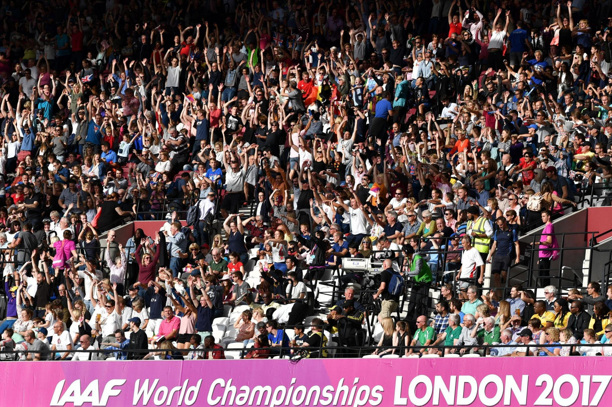 Record crowds attended the 2017 IAAF World Championships in London ©Getty Images