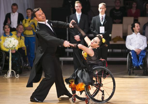 Slovakian wins gold medal in front of home crowd on return to World Para Dance