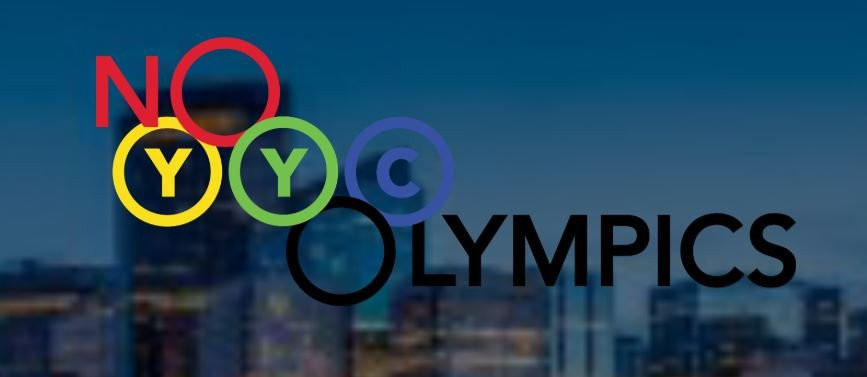 NoCalgaryOlympics have repeatedly accused the Council of not being honest regarding the cost of hosting ©NoCalgaryOlympics