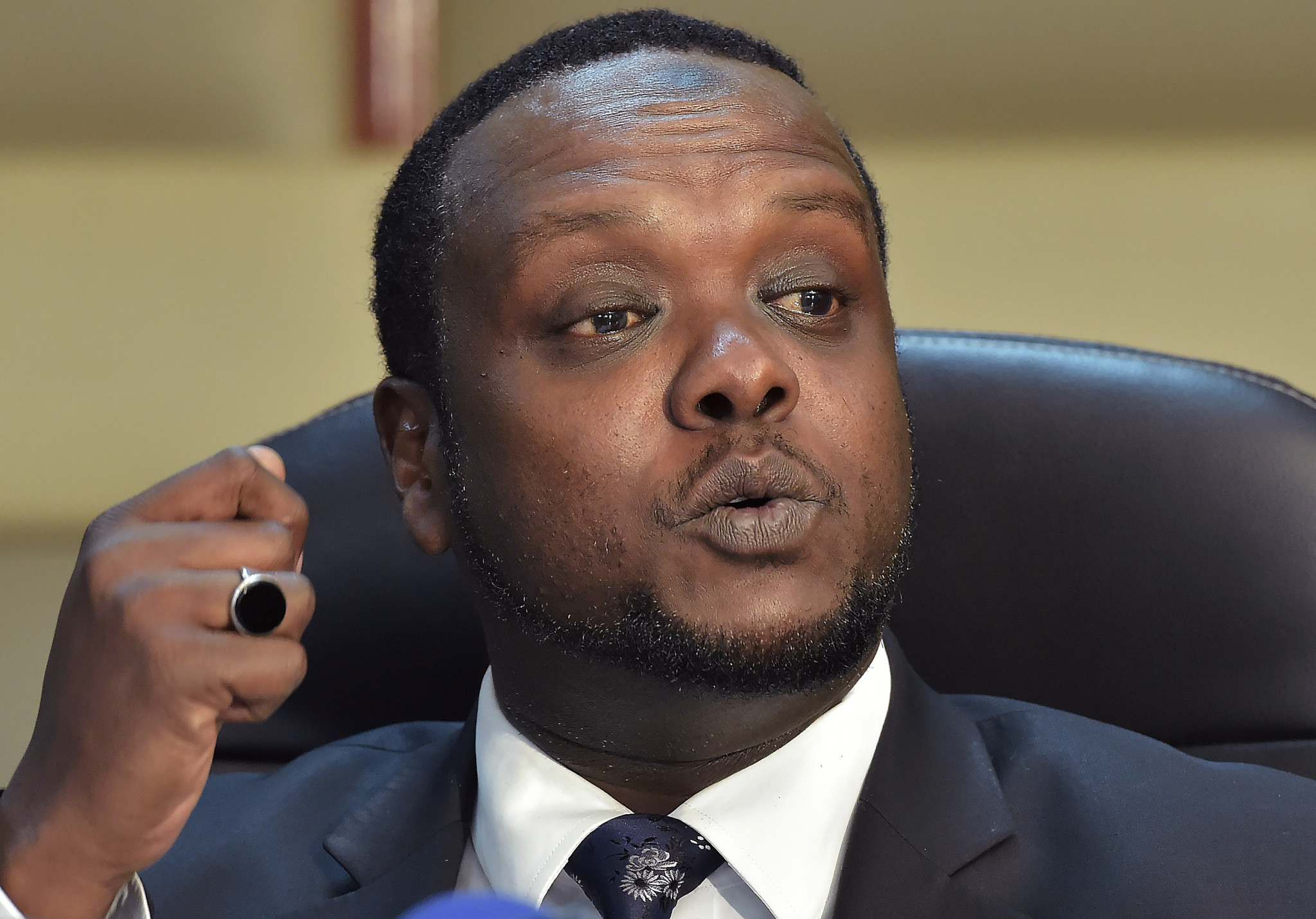 Former Cabinet Secretary for Sports Hassan Wario has also handed himself over to police ©Getty Images