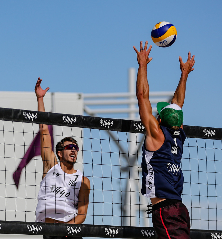 The United States used home support to help their men's and women's pairs advance to the main draw of the FIVB Beach Volleyball World Tour four-star event in Las Vegas ©FIVB