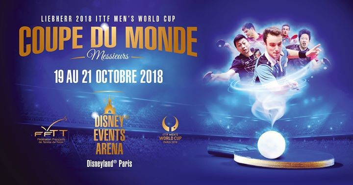 Top players descend on Disneyland Paris for ITTF Men's World Cup