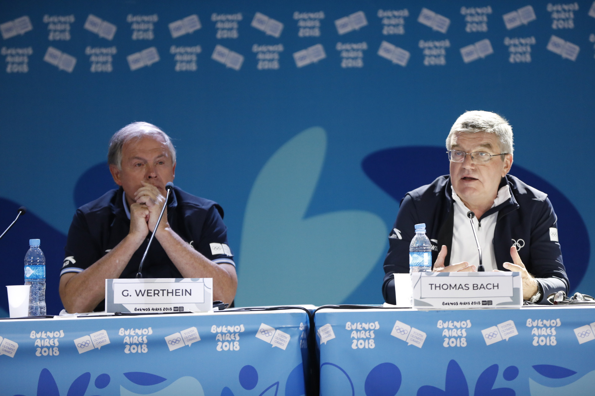 IOC President Thomas Bach talked up Argentina's possibly candidacy for the 2032 Olympics ©Buenos Aires 2018