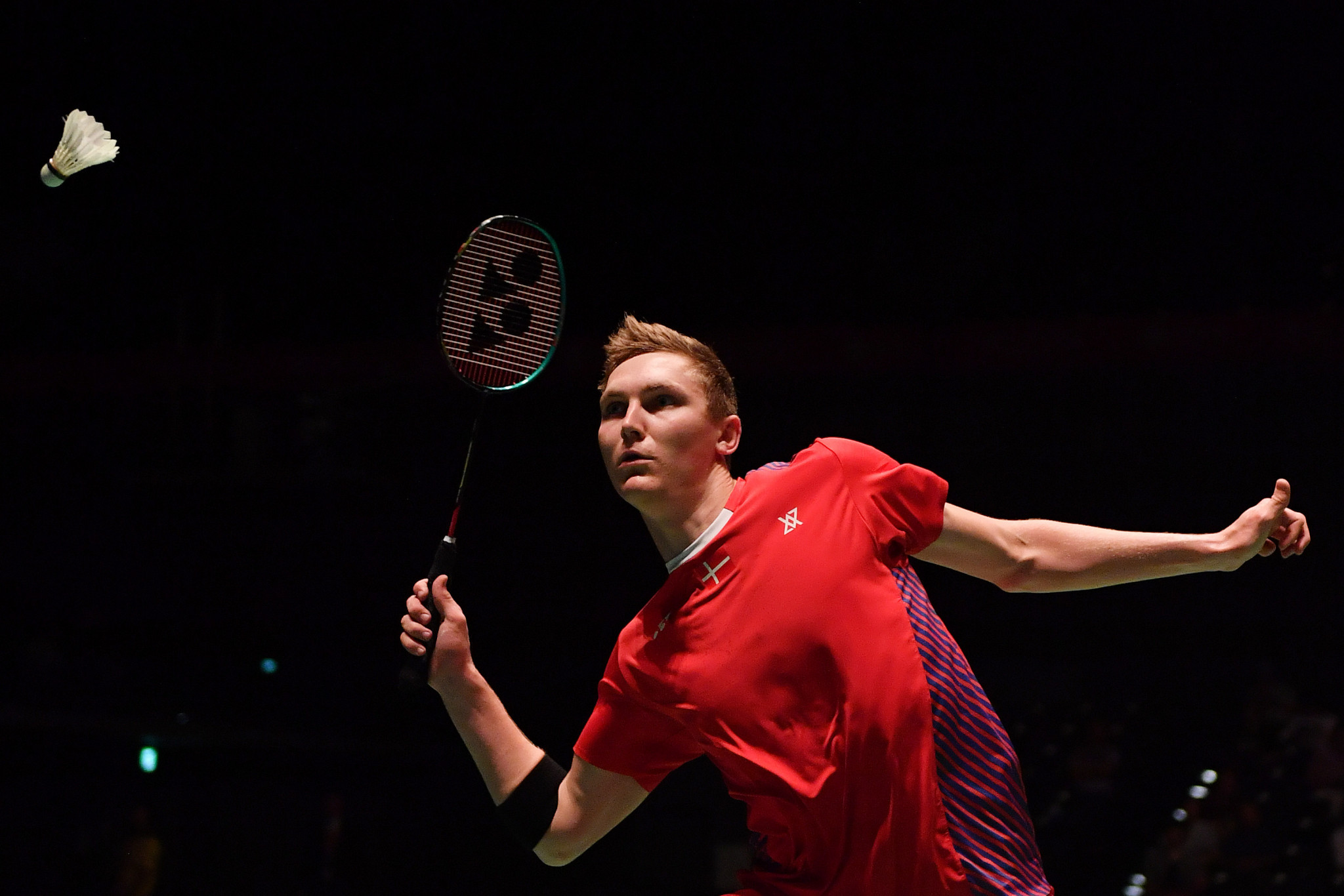 Home favourite Viktor Axelsen's hopes of claiming a first-ever title at the BWF Denmark Open came to an abrupt end today ©Getty Images