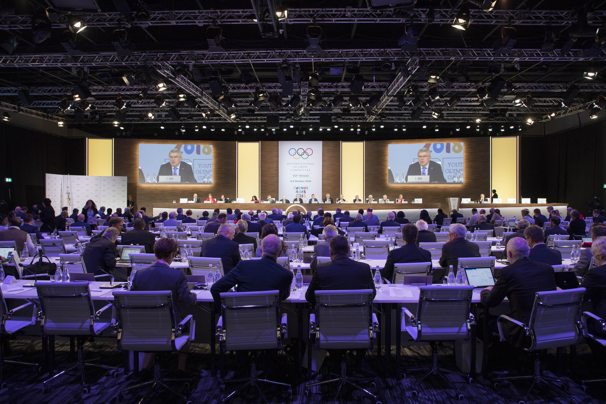 The IOC Session approved all three candidates in Buenos Aires ©IOC