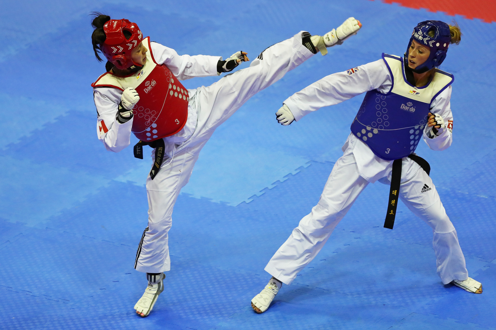 Britain's world number one and double Olympic champion Jade Jones will be competing at her home World Taekwondo Grand Prix in Manchester ©Getty Images