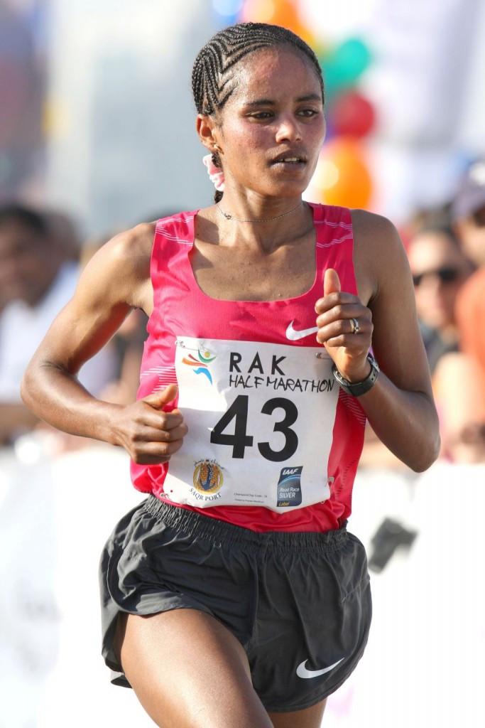 Mengistu to lead strong Ethiopian women's quartet in Frankfurt Marathon