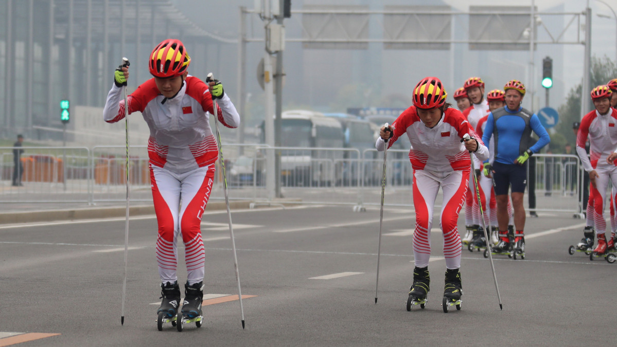 King and Queen of Norway watch roller ski race after Chinese President thanks them for support in Beijing 2022 build-up
