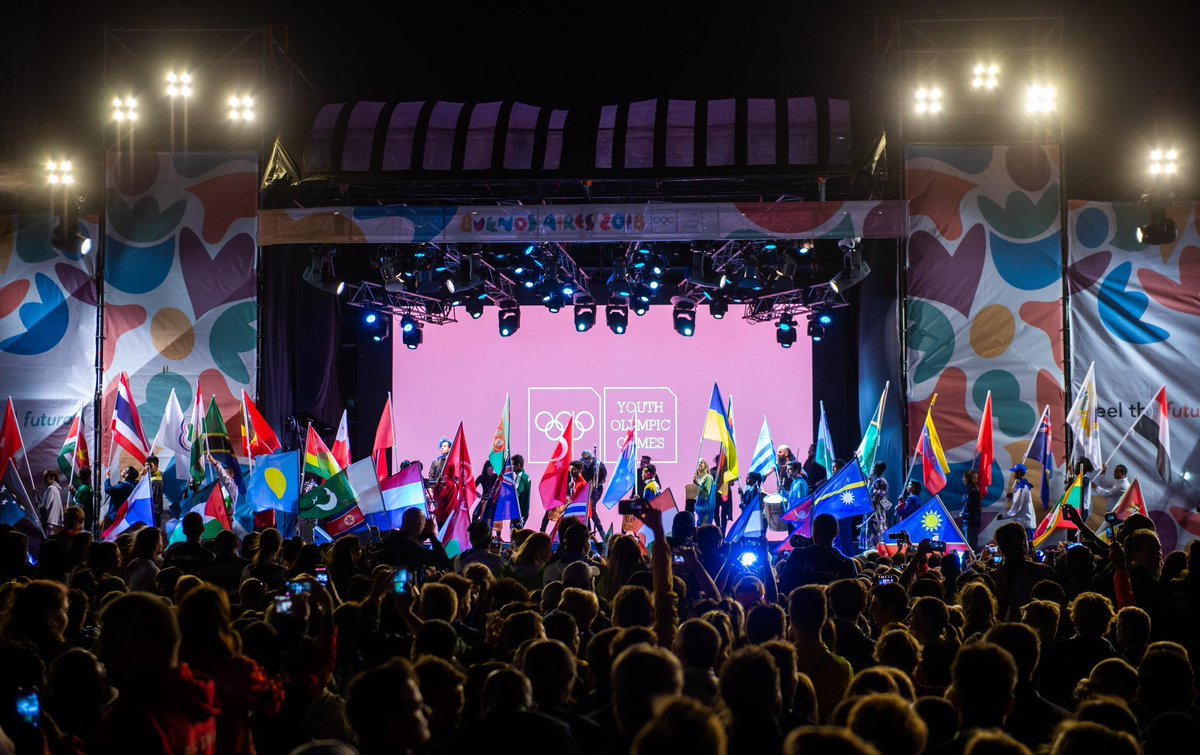A short and compact Closing Ceremony which broke from tradition brought the curtain down on the 2018 Summer Youth Olympic Games ©Olympic Channel