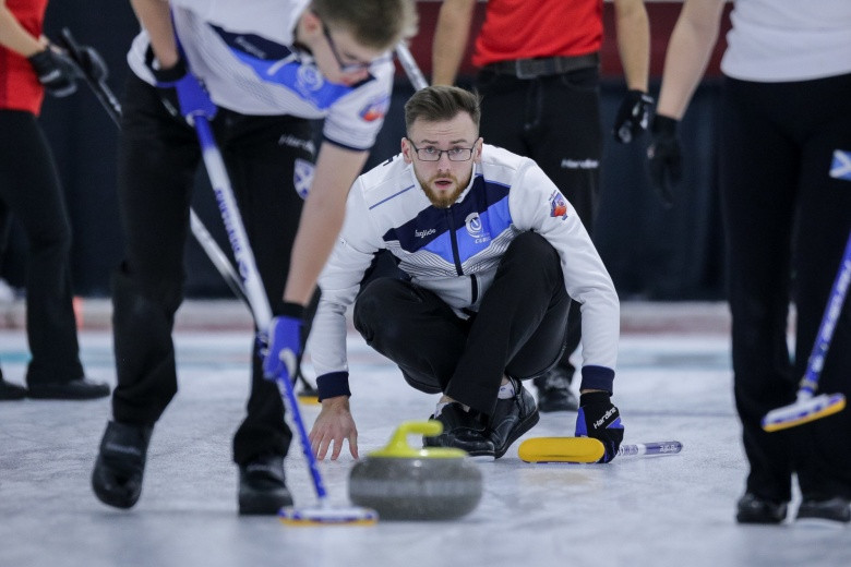 Play-off places at World Mixed Curling Championship set as round-robin draws to a close