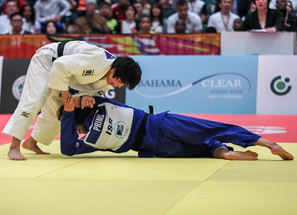 Takeda adds IJF World Junior Championships gold to cadet title in The Bahamas