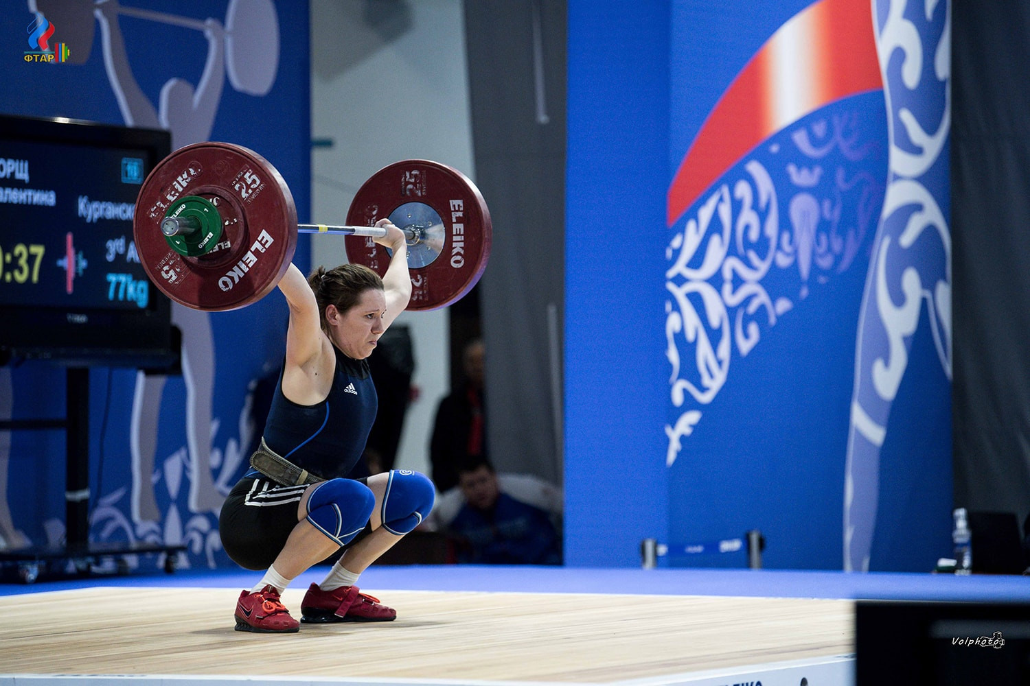 Russia has been restricted in weightlifting for the Tokyo 2020 Olympics with only one man and one woman eligible for the nation ©Getty Images