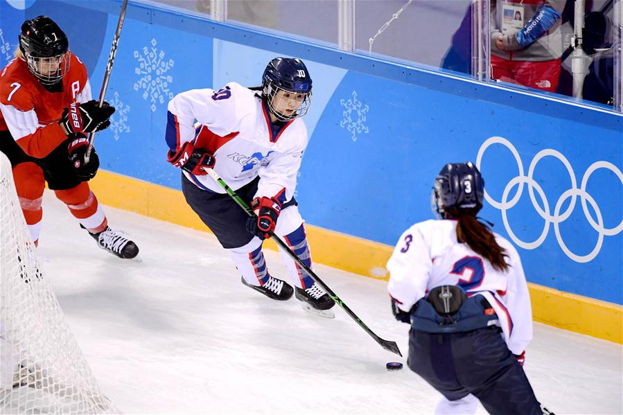 The unified Korean women's ice hockey team lost all five of their matches at Pyeongchang 2018 ©Getty Images