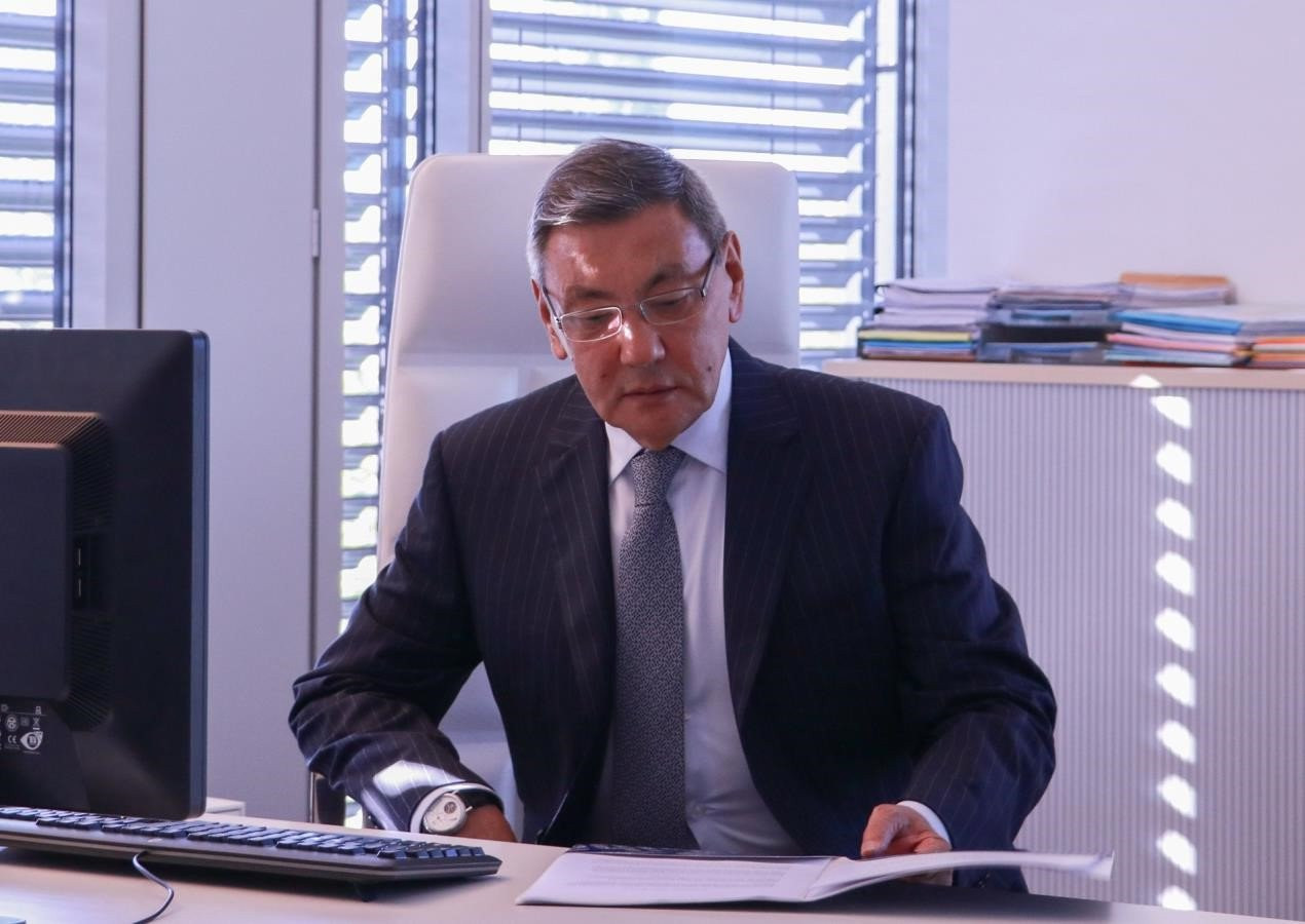 """Rakhimov hints may step aside if elected AIBA President should """"issues"""" with IOC continue"""