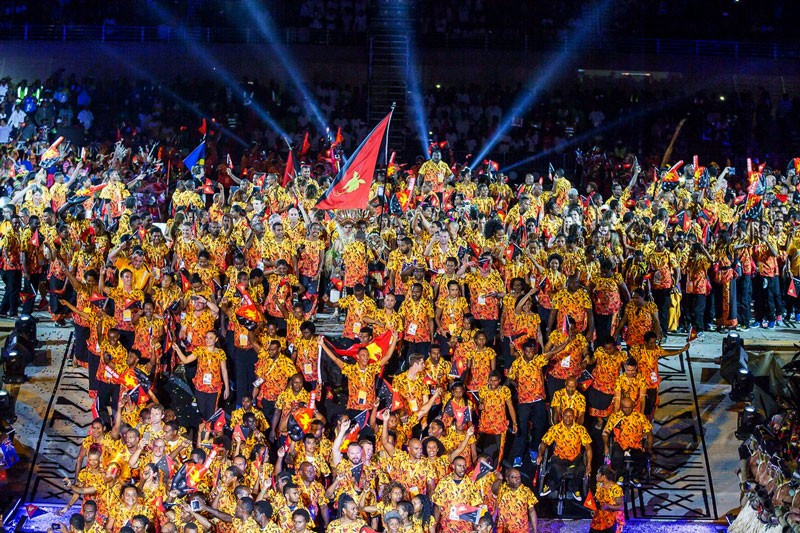 The news of World Cup matches came after the hosting of this year's Pacific Games