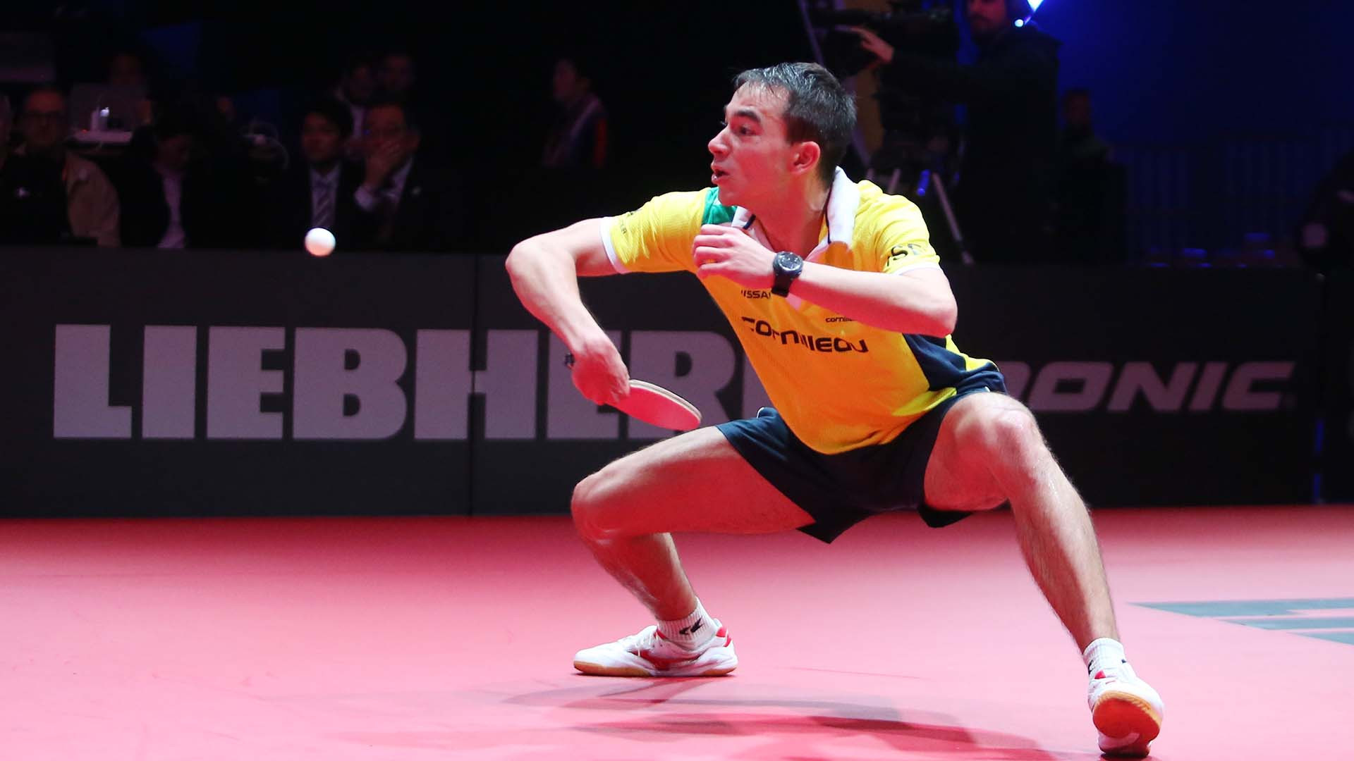 Calderano a casualty as ITTF Men's World Cup begins at Disneyland Paris