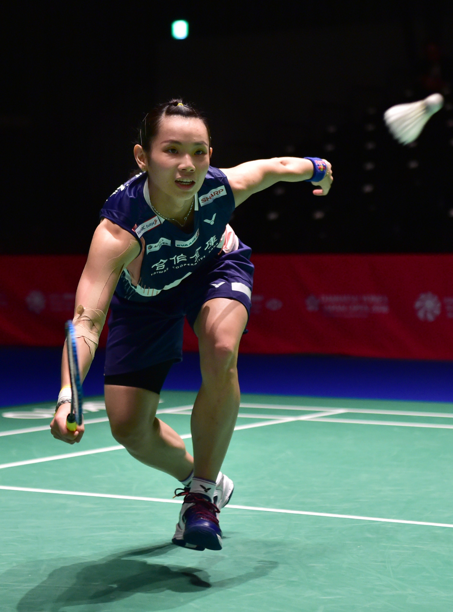 Top seed Tai Tzu-ying remains on course for glory in the women's singles event ©Getty Images