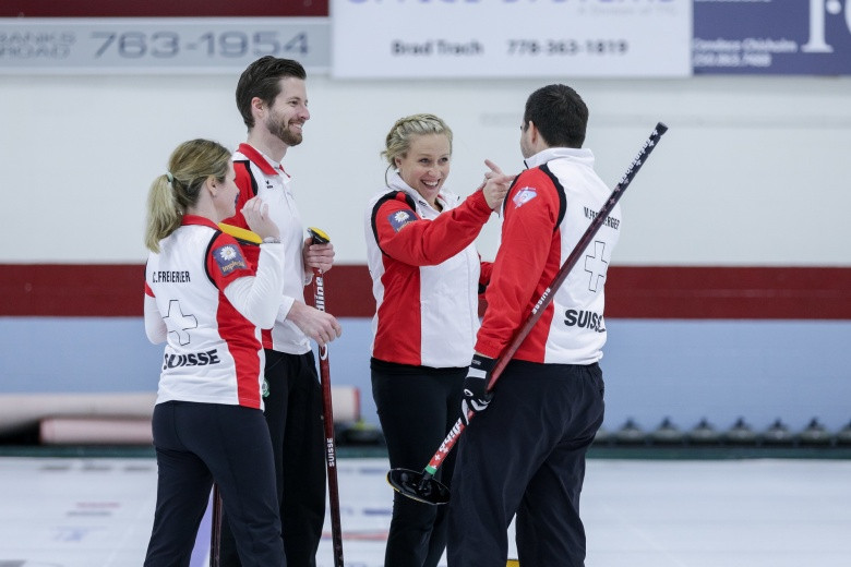 Semi-finals at World Mixed Curling Championship decided