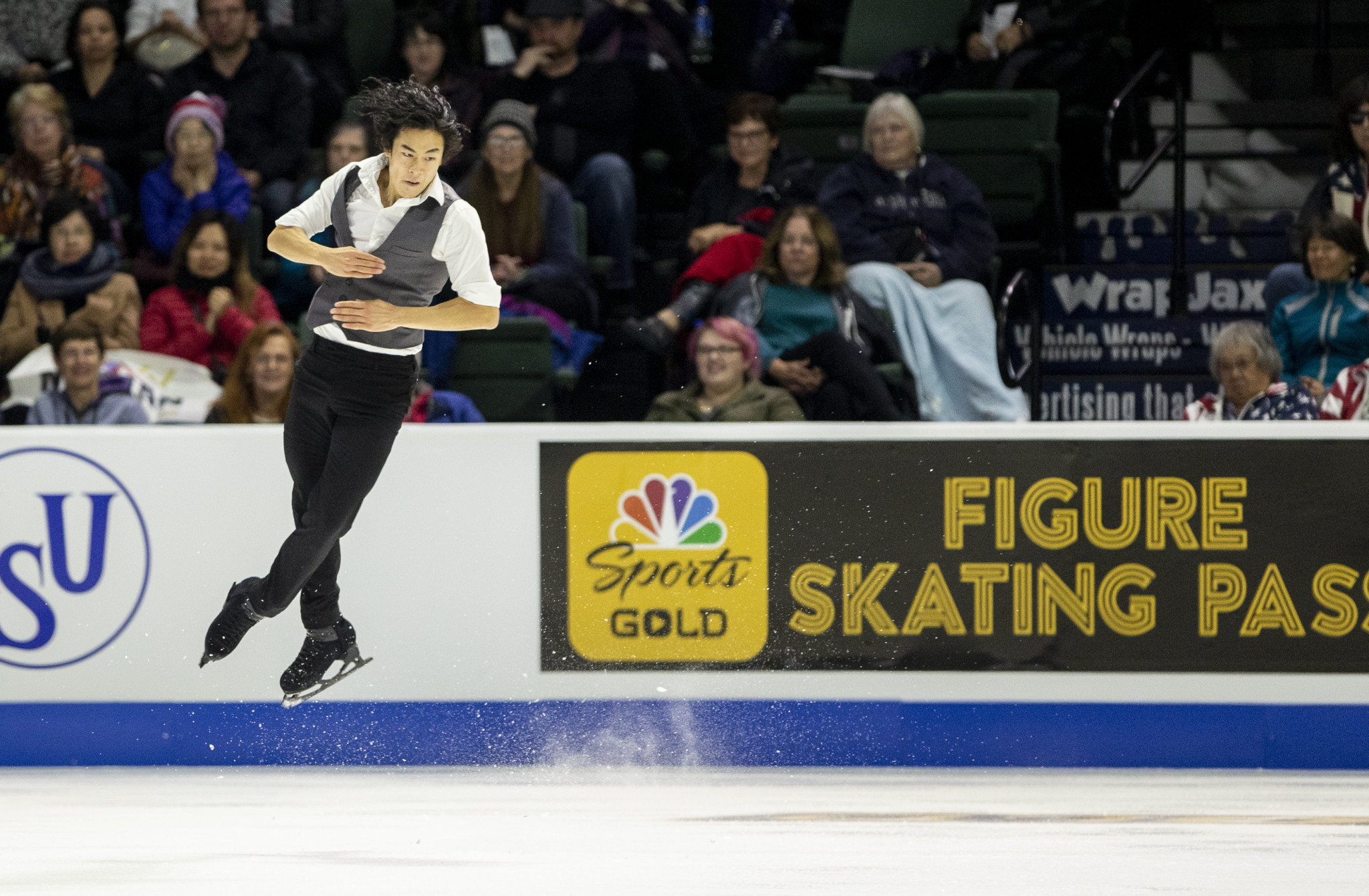 World champion Chen stars on home ice as Grand Prix of Figure Skating season begins