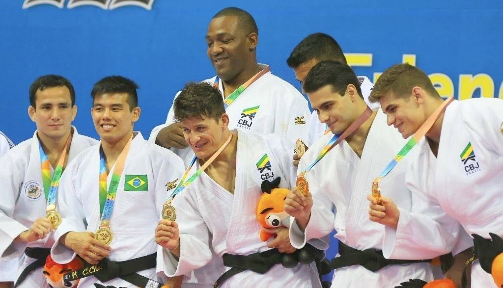 Brazil battled past the hosts in the semi-final but comfortably saw off Mongolia to win men's team judo gold ©Facebook/CISM - Conseil International du Sport Militaire
