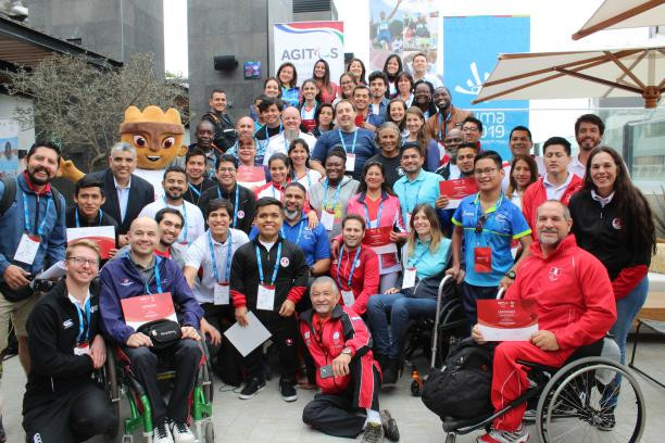 """The Agitos Foundation has launched the """"Road to Lima 2019"""" programme with Proud Paralympian and boccia courses ©Agitos Foundation"""