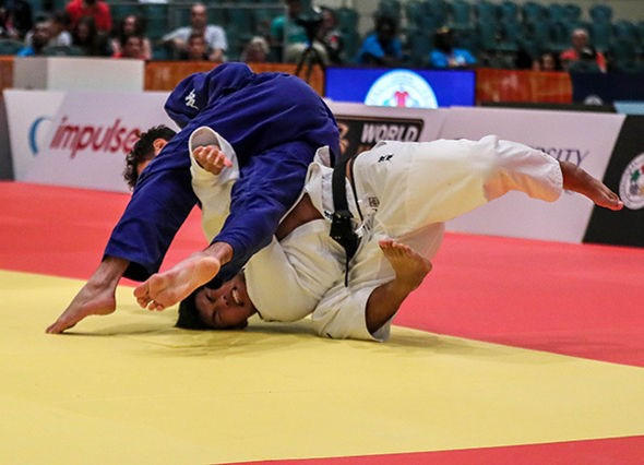Italy's Christian Parlati took gold to take his country to second place on the overall medal table ©IJF
