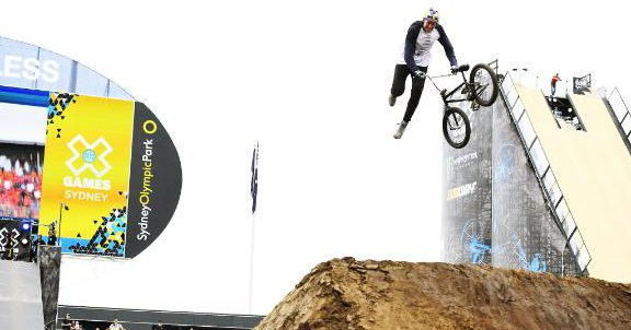 Poland's Godziek claims BMX dirt title on day two of X Games in Sydney