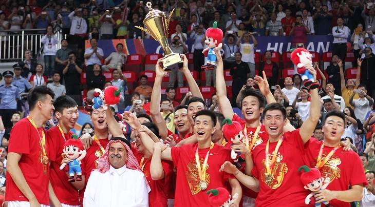 China secure ticket to Rio 2016 with success at FIBA Asia Championship