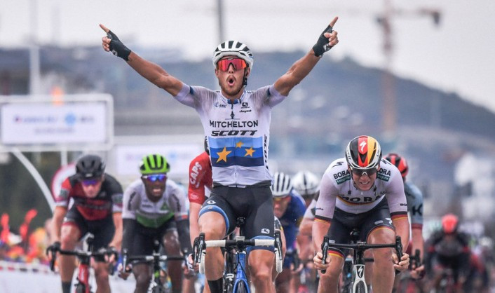 Trentin wins fifth stage of Tour of Guangxi