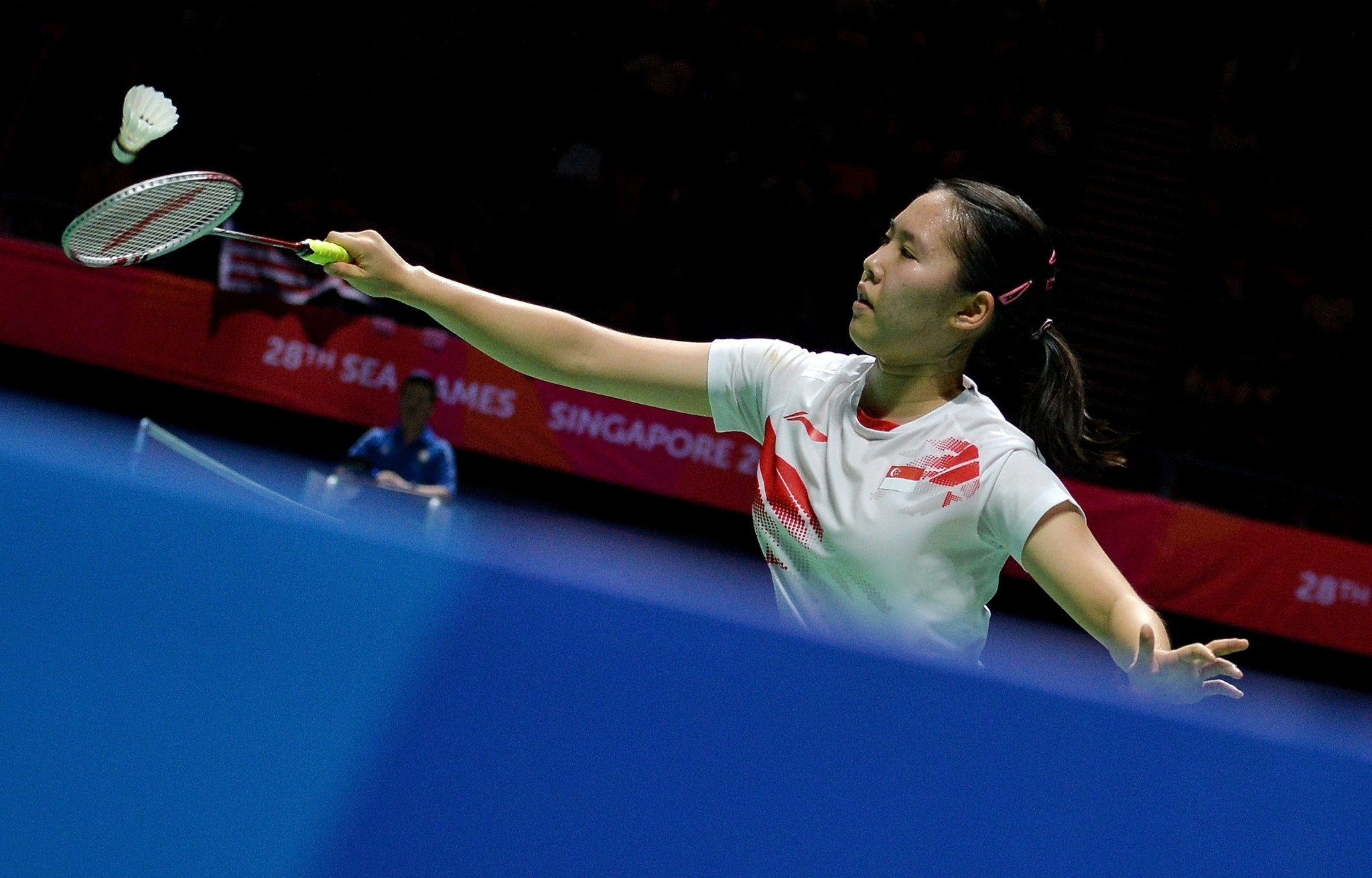 Women's singles top seed Grace Chua Hui Zhen of Singapore is through to the semi-finals ©Getty Images