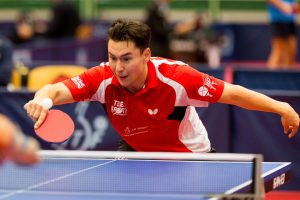 Wilson battles back against double Paralympic champion to win ITTF Para World Championships gold