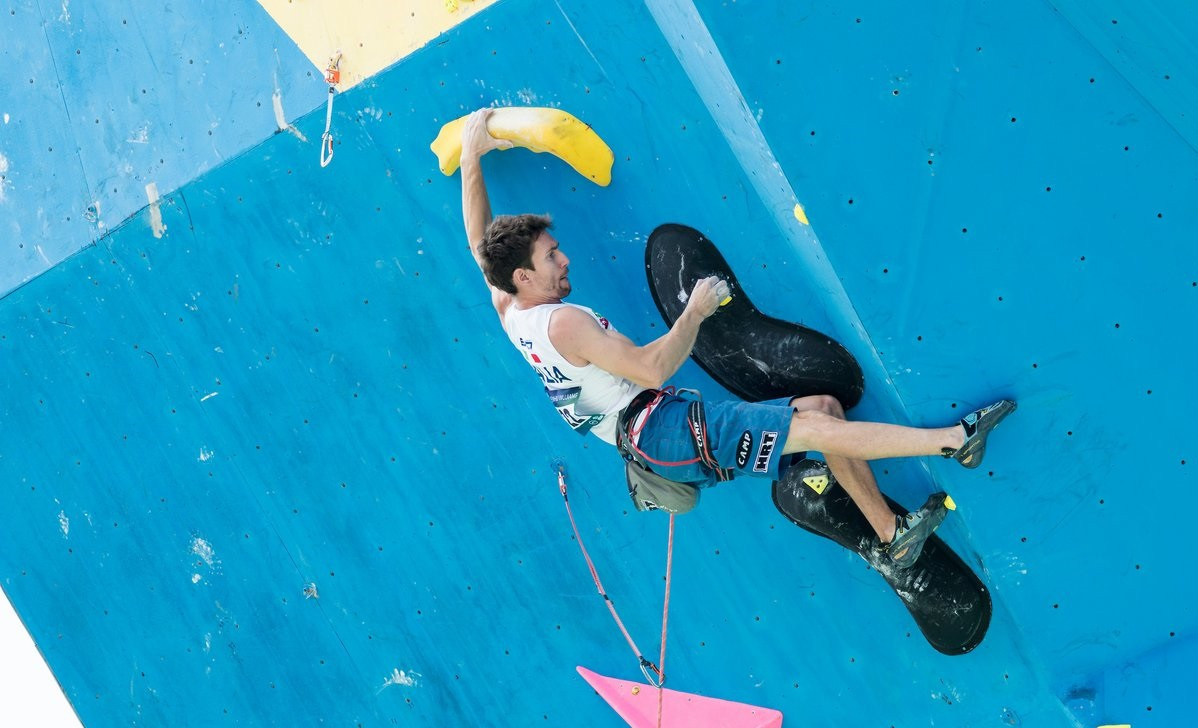 Action begun today at the IFSC World Cup in Wujiang in China ©Eddie Fowke/IFSC/Twitter