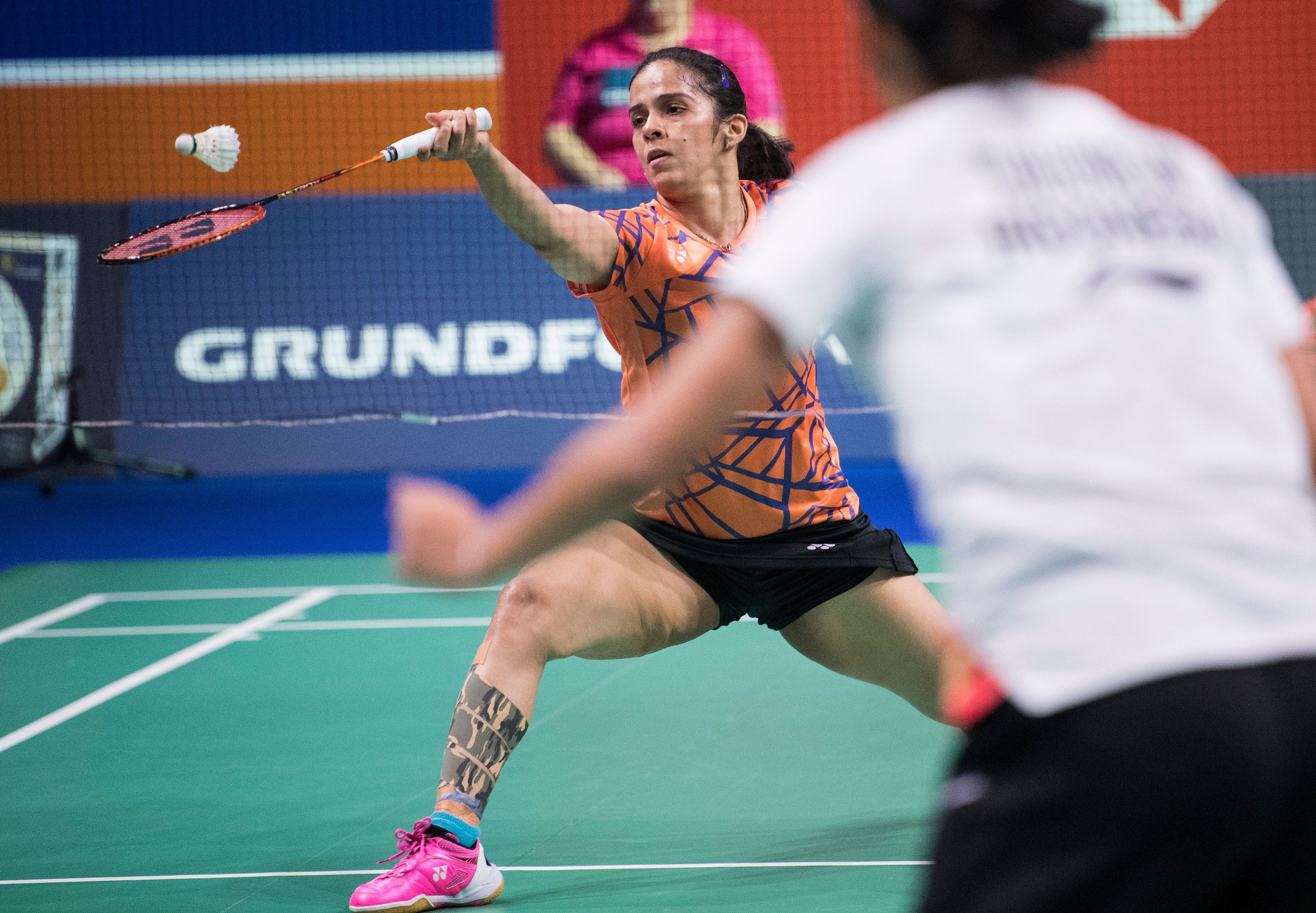 Saina Newhal won against Indonesia's Gregoria Mariska Tunjung to reach the final of the BWF Denmark Open ©Getty Images