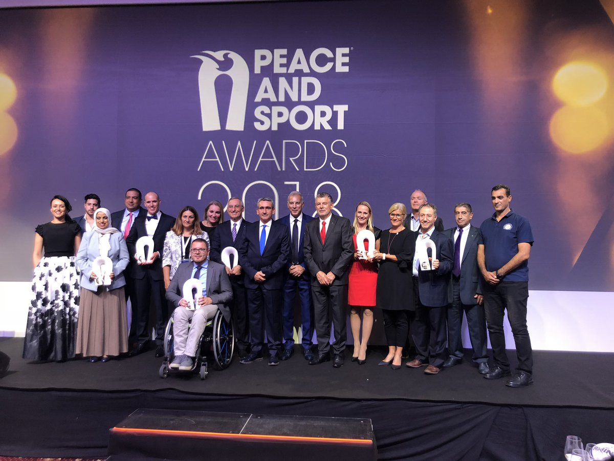 The winners of the awards at the Peace and Sport Forum demonstrated how sport can be used to tackle issues threatening global peace ©Peace and Sport
