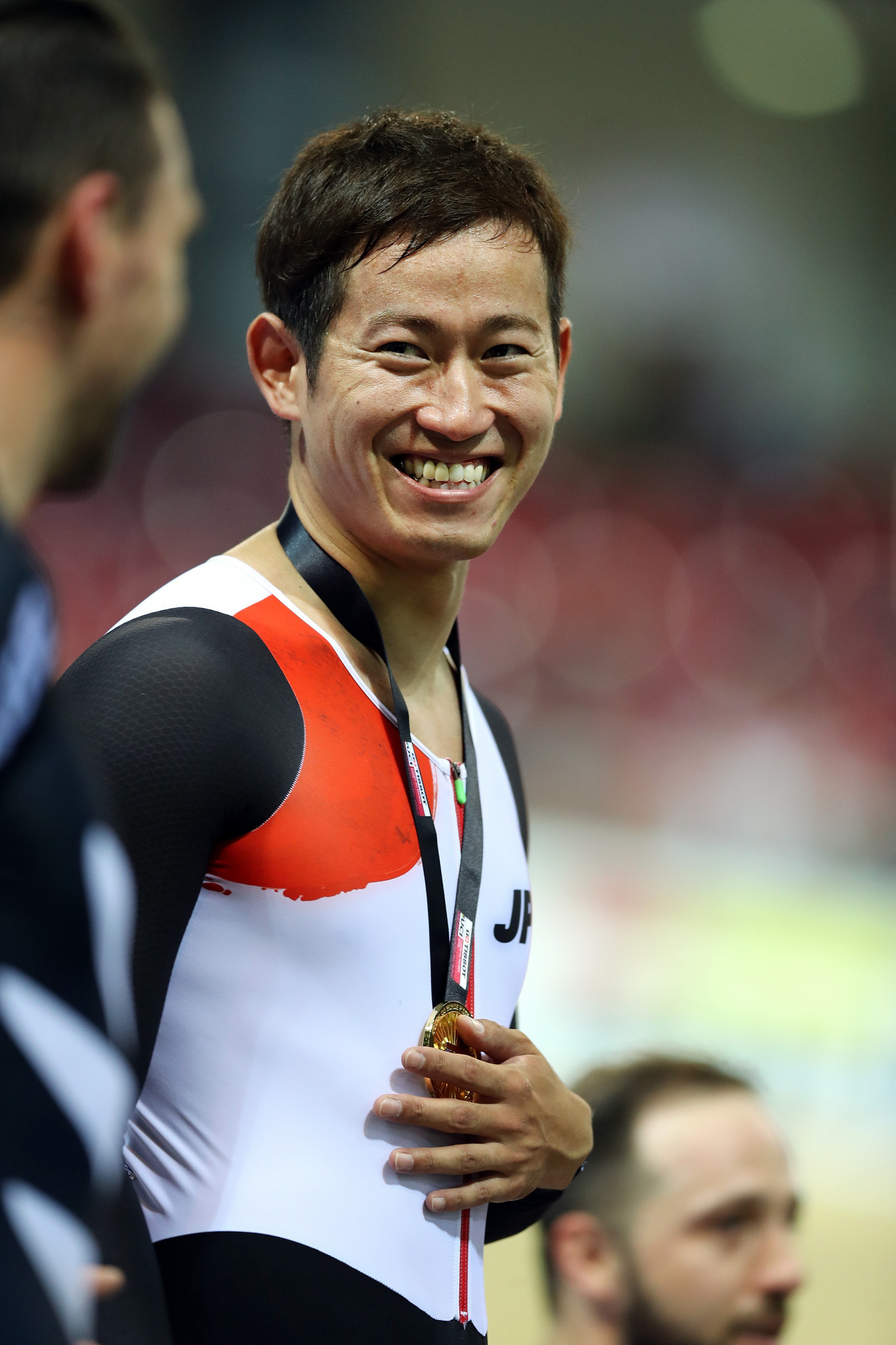 Yuta Wakimoto of Japan won the men's keirin title ©Getty Images