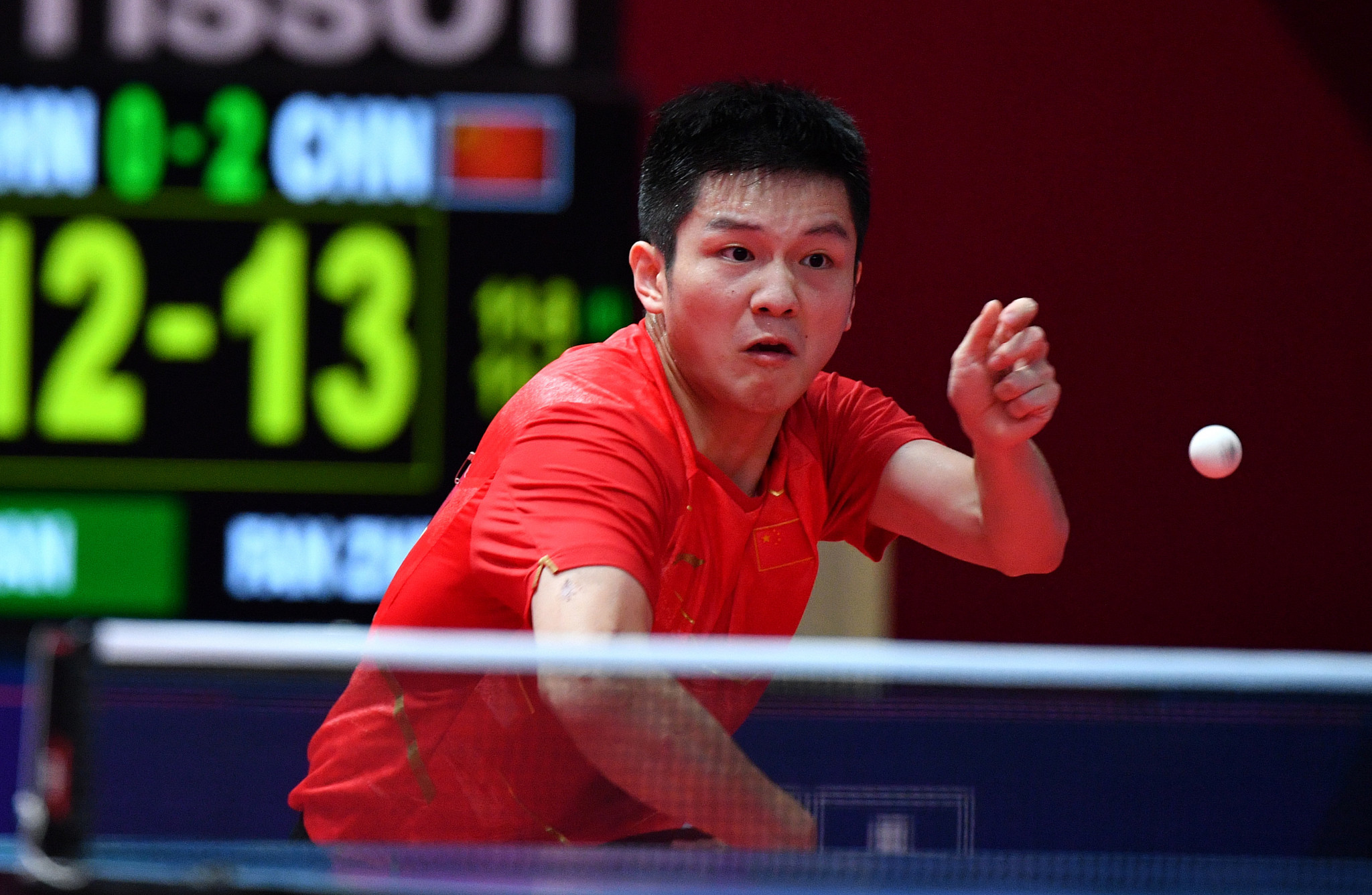 Top seed Fan remains on track at ITTF Men's World Cup