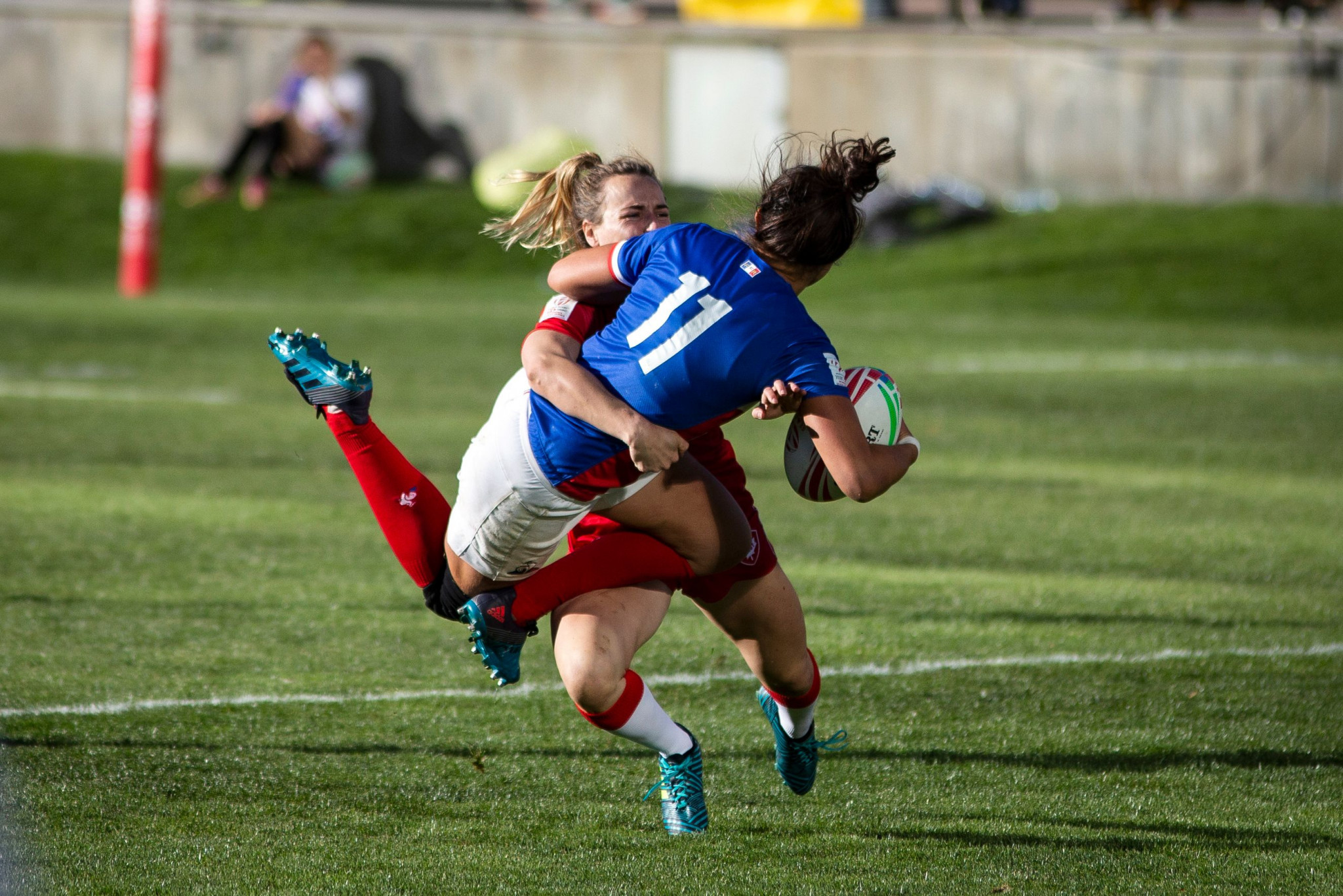 Canada and New Zealand dominate on opening day of World Rugby Women's Sevens Series in Denver
