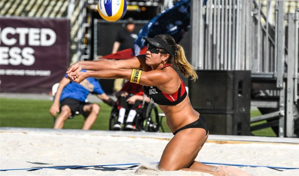 Canada's women dominated the event and are guaranteed to take gold and silver ©FIVB