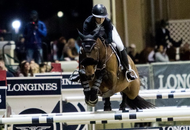Maiden win for Hoffman on FEI Jumping World Cup tour