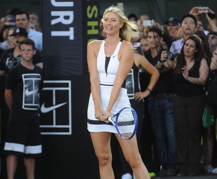 A sponsorship deal with sports kit giants Nike and Russian tennis player Maria Sharapova is set to end, according to reports ©Getty Images