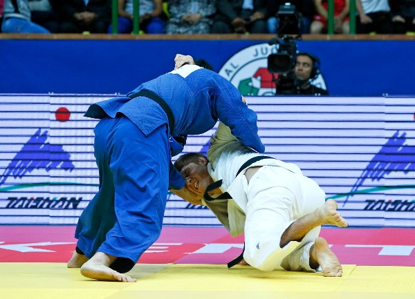 Aaron Wolf continued his rise up the rankings with victory today in Tashkent ©IJF