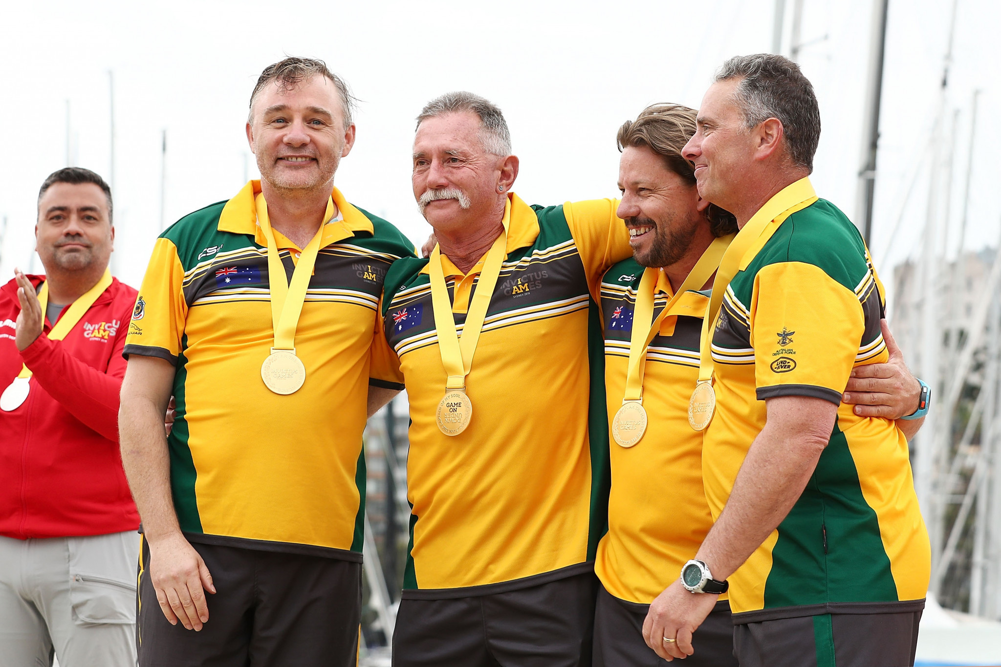Australia won gold in the final of the Elliot 7 team event at the 2018 Sydney Invictus Games ©Getty Images