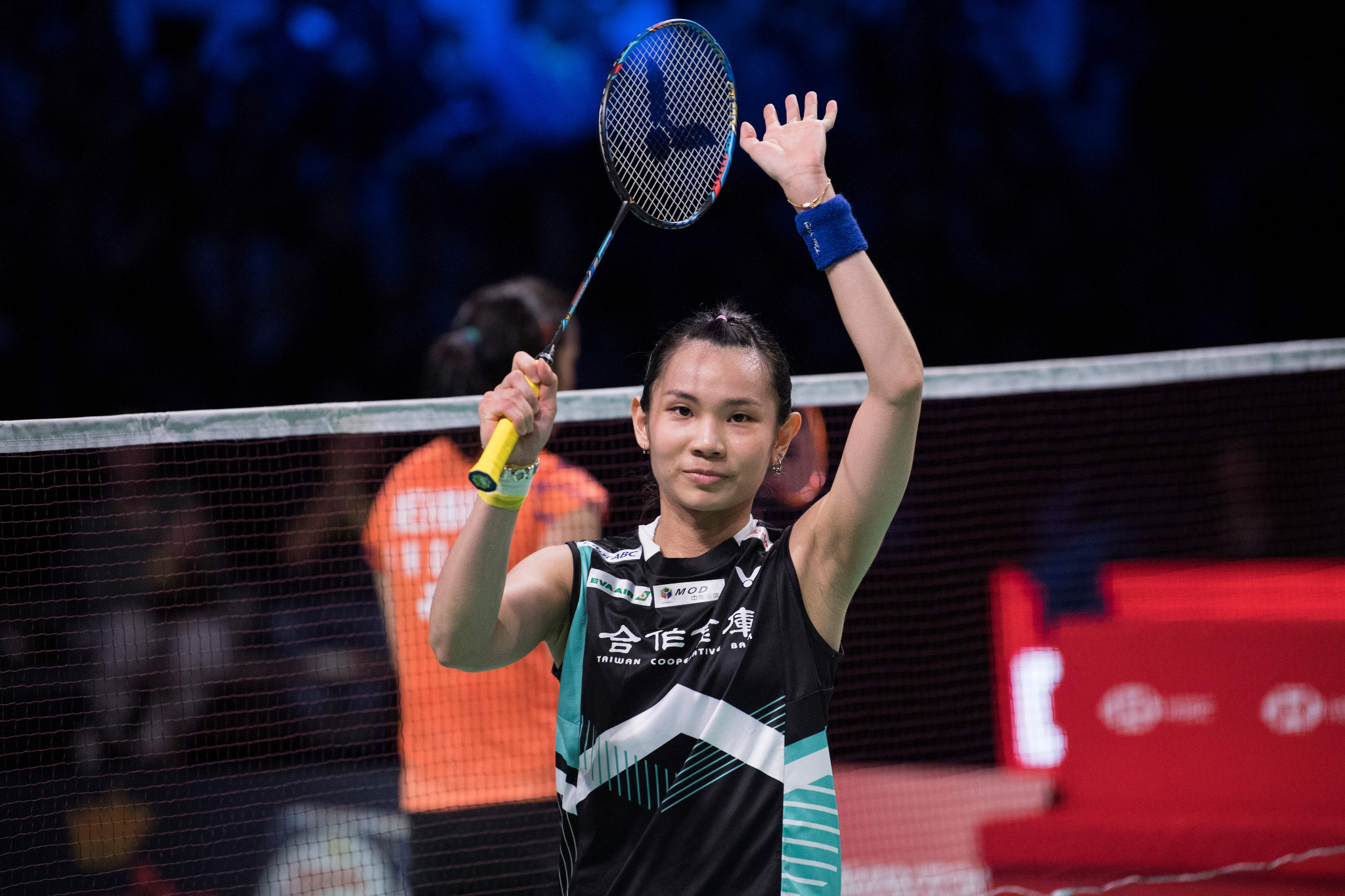 Tai Tzu Ying of Chinese Taipei won the women's final of the BWF Denmark Open against India's Saina Nehwal ©Getty Images