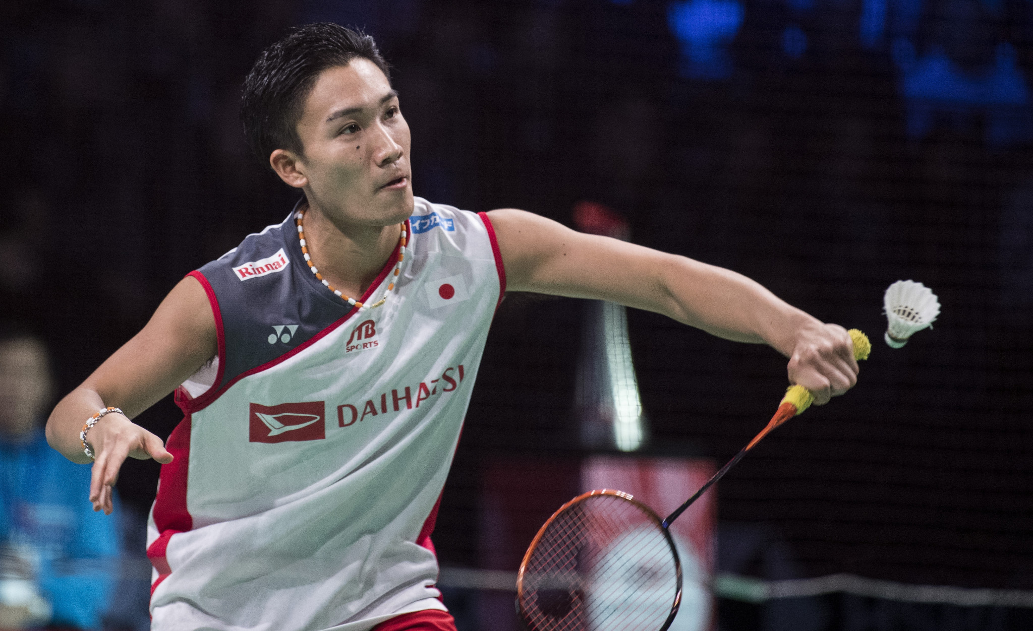 Kento Momota of Japan won the men's final of the BWF Denmark Open ©Getty Images