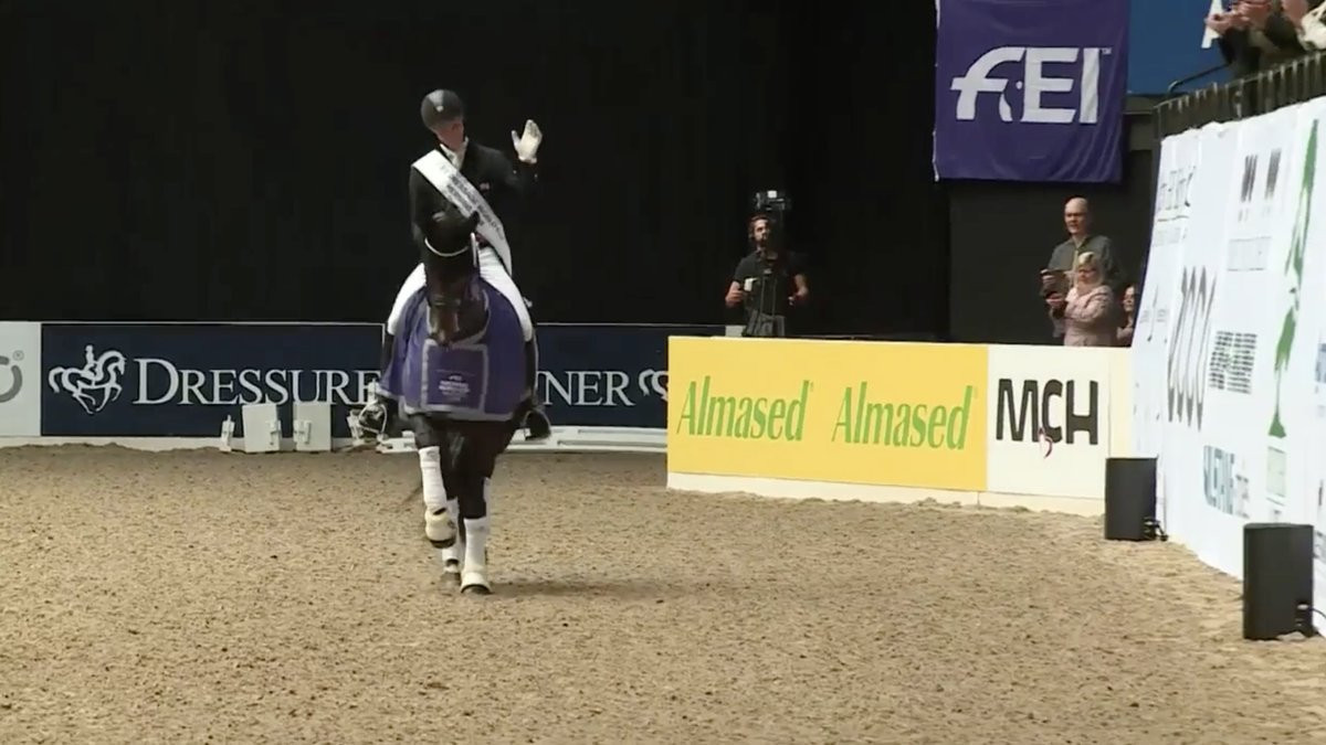 Andersen wins again at FEI Dressage World Cup Western European League event in Herning