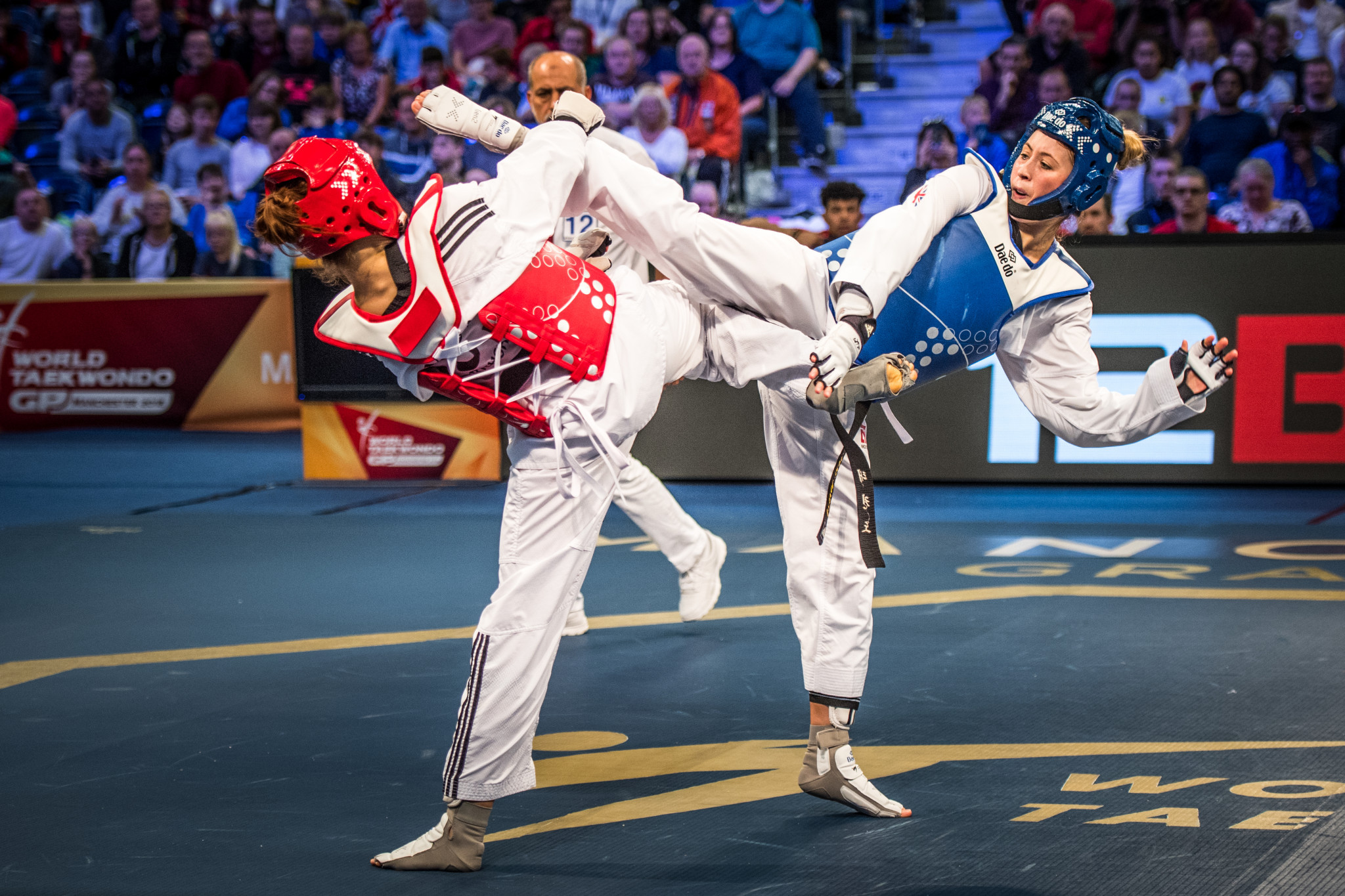 Jones takes home World Taekwondo Grand Prix gold in Manchester