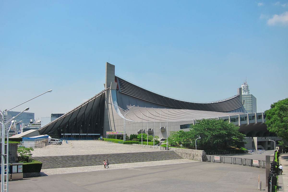 The Shimizu Corporation helped build the Yoyogi National Stadium for the 1964 Olympic Games in Tokyo ©Wikipedia