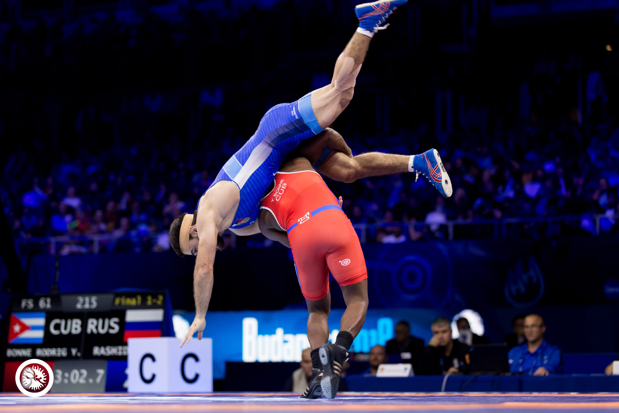 Day two of medal action at the 2018 Wrestling World Championships
