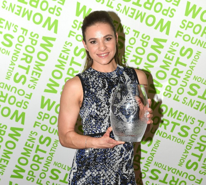 Masters becomes second-ever Paralympian to be named individual sportswoman of year at Women's Sports Foundation awards